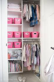 closet organization with the home decluttering diet closet