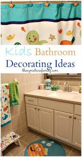 Boys Bathroom Decorating Ideas Bathroom Decorating Ideas Kid Bathrooms Crafty And Crafts