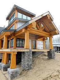 Slokana Log Home Log Cabin Log Trusses In Custom Post And Beam Garage Artisan Log And