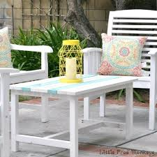 coffee table with cooler diy outdoor coffee table outdoor coffee table little free monkeys