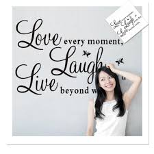 sticker outdoor picture more detailed picture about 1pcs ebay 1pcs ebay live laugh love english proverbs foreign trade butterfly wall stickers wholesale 50 70cm