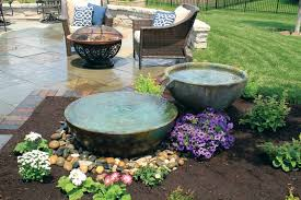 fountainscape bubbling urns orlando florida water garden pond