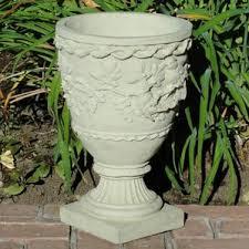Stone Urn Planter by Urn Planters You U0027ll Love Wayfair