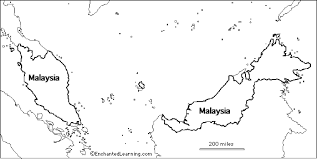 outline map research activity 3 malaysia enchantedlearning com