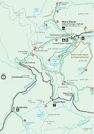 Namekagon River Map Day Hiking Trails December 2013