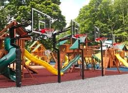 Ultimate Backyard Playground Swing Sets Storage Sheds Trampolines And More Best In Backyards
