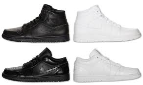 Nike Air Force One Comfort Back To Basic With The Nike Af1 And Air Jordan 1 Mid Sneakers