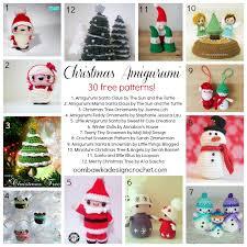30 free christmas amigurumi patterns u2022 oombawka design crochet