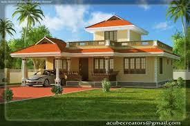 Kerala House Plans Single Floor Kerala Style House Elevation At 1524 Sq Ft