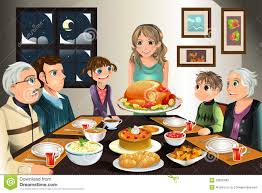 thanksgiving dinner pictures clip art thanksgiving family dinner stock photos image 20835483