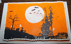 halloween themed sheet cakes u2013 festival collections