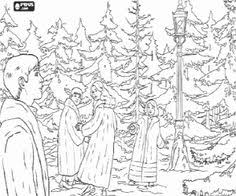 chronicles narnia coloring picture templates