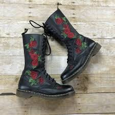 dr martens womens boots size 9 best floral dr martens products on wanelo