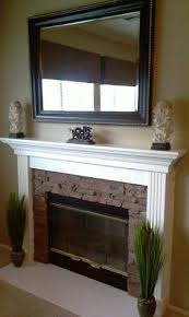 Fireplace Surrounds Lowes by Fireplace Diy Found Mantle At Garage Sale Leg And Skirt Kit From