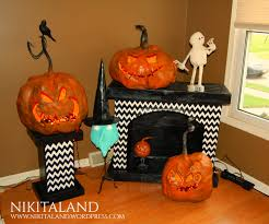 paper mache ideas for home decor halloween mantel with stylish concept decoration channel awesome