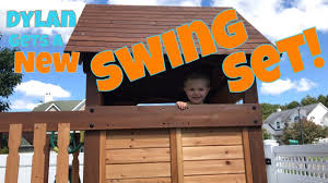 100 backyard discovery tucson cedar swing set oakmont