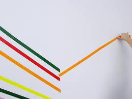 Washi Tape Designs by Create Herringbone Wall Decor With Washi Tape Hgtv