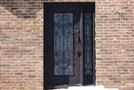 Exterior Door Sweeps by Sh 01 Wrought Iron Door Kings Building Material