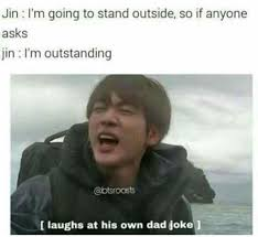 Hood Dad Meme - jin s dad jokes memes army s amino