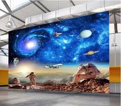 online buy wholesale 3d mural wallpaper galaxy from china 3d mural