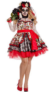 day of the dead costumes size la novia costume plus size day of the dead costume