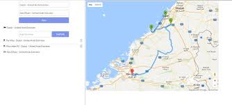 Google Maps And Directions Google Map Directions Multi Stop Waypoints Example Tips