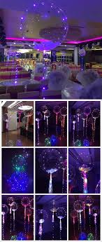 decoration lights for party clear balloon with led string lights decoration lights and sweet 16