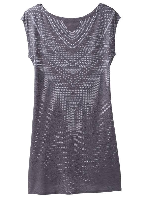 prAna Sanna Dress Charcoal Synergy Small W31180494-CCSY-S