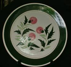 stangl pottery terra stangl pottery 12 platter thistle pattern collectors weekly