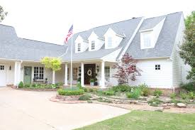 farmhouse with wrap around porch eleven gables eleven gables home spring home tour part 3