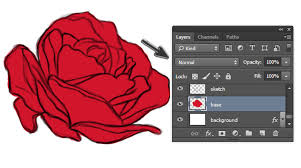 how to shade easily with layer blend modes