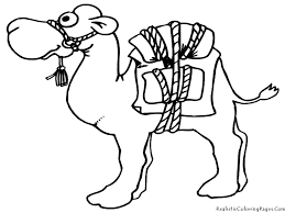 free printable coloring camel coloring page 82 in coloring pages