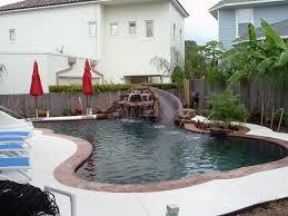 Backyard Pool With Slide - pools by price precision pools u0026 spas houston tx