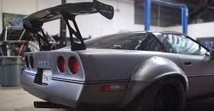fast glass corvette budget build turns crusty c4 corvette into car chevroletforum