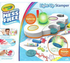 buy crayola colour wonder light up stamper at argos co uk your