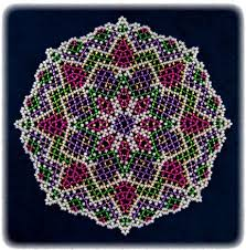 121 best beaded doilies images on pinterest beads beadwork and