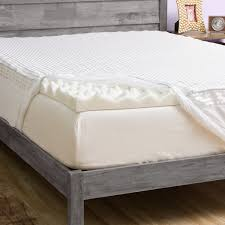 Comfortable Mattress Pad Grande Hotel Collection Big Comfort 3 Inch Memory Foam Mattress