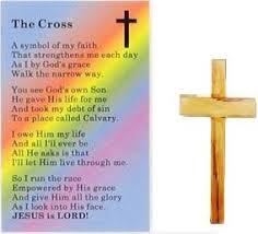 pocket crosses new wooden pocket cross token with free the cross prayer card