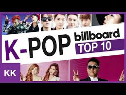 top 10 k pop artists in billboard charts