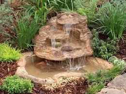 Artificial Garden Rocks Small Pond Waterfall Kits Backyard Artificial Water Features