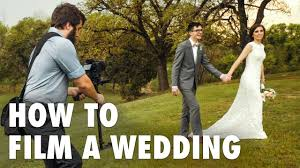 how to film a wedding behind the scenes of a real wedding film