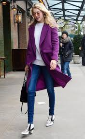 Thanksgiving In New York City 2014 Gigi Hadid Street Fashion Out For Lunch In New York City
