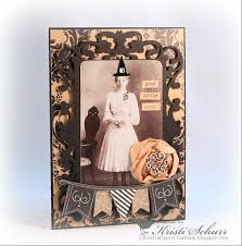 kristi u0027s paper creations halloween card good little witch