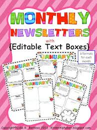 best 25 newsletter templates ideas on pinterest parent