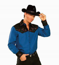 Mens Cowboy Halloween Costume Men U0027s Cowboy Western Tops U0026 Shirts Costumes Ebay