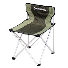 Lightweight Aluminum Webbed Folding Lawn Chairs Amazon Com Kingcamp Compact Large Size Chair 260lbs Light