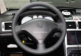 peugeot factory steering wheel recovering kit for peugeot 307 and other cars