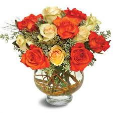 Bouquet Of Flowers In Vase Augusta And Martinez Florist Flower Delivery By Flowers On Broad