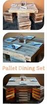 Build A Picnic Table Out Of Pallets by Best 25 Pallet Dining Tables Ideas On Pinterest Table And Bench