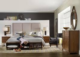 Laminate Wood Flooring For Sale Black Task Lamp And Beige Carpeting Mid Century Bedroom Furniture